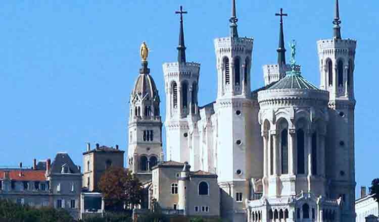 Obiective turistice Lyon din Franta
