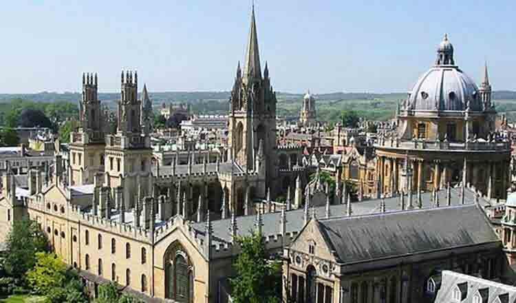 Obiective turistice Oxford din Anglia