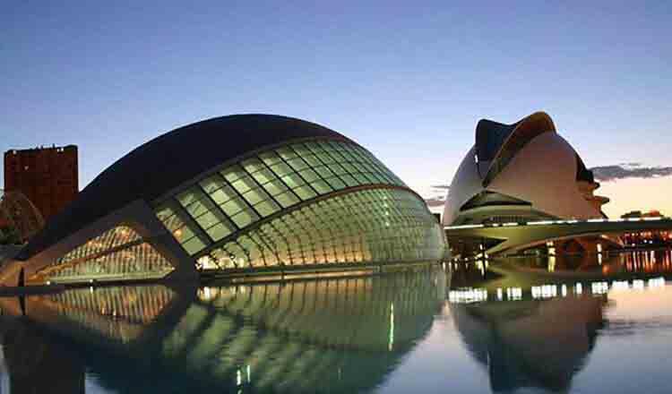 Obiective turistice Valencia din Spania