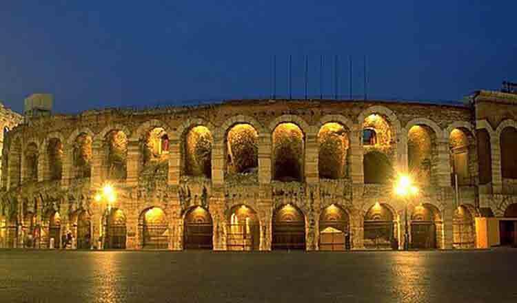 Obiective turistice Verona din Italia