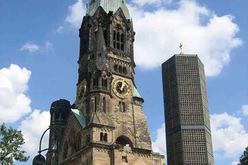 Berlin - Kaiser Wilhelm Gedachtniskirche