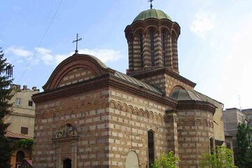 Bucuresti - Biserica Curtii Vechi