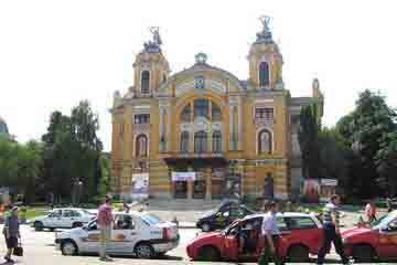 Cluj Napoca - Muzeul National Lucian Blaga