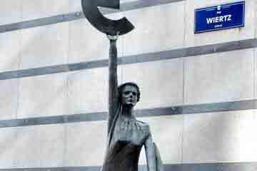 Bruxelles - Statuia Europei
