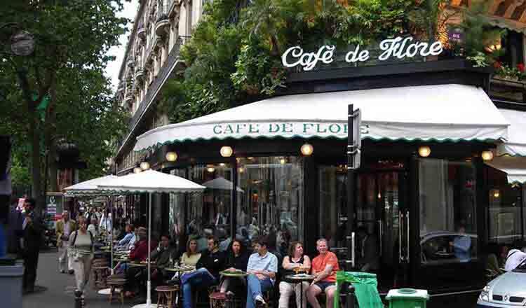 Cafenelele din Paris