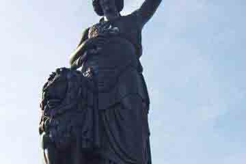 Munchen - Statuia din Bavaria