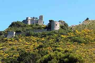 Capri - Castello Barbarossa