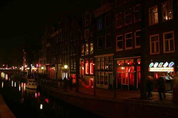 Amsterdam - Districtul Felinarelor Rosii