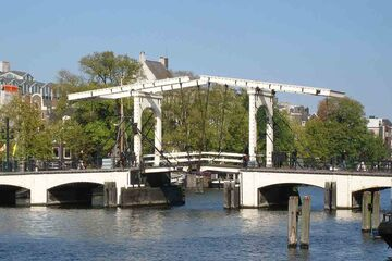 Amsterdam - Podul Magere Brug