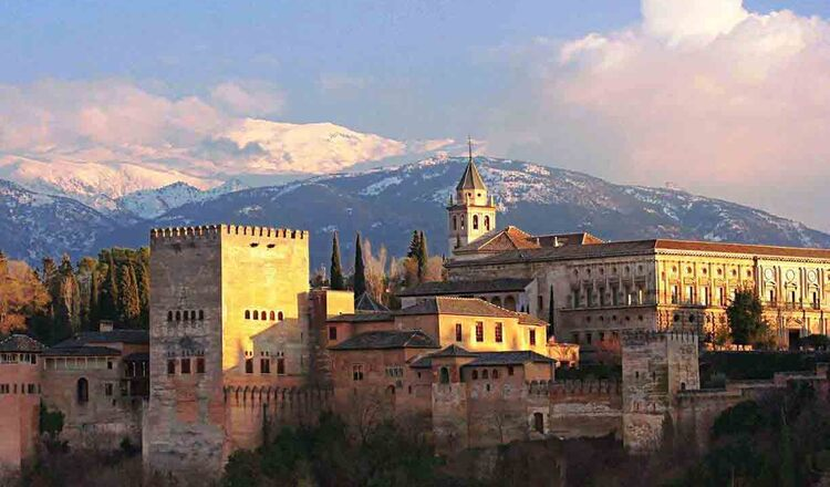 Obiective turistice Granada din Spania