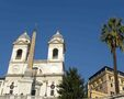 Biserica Sf Trinit dei Monti si piata Spaniei