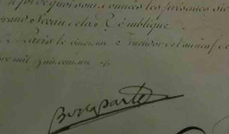 Documente unicate despre Michelangelo si Galileo, Napoleon si Maria Stuart, expuse la