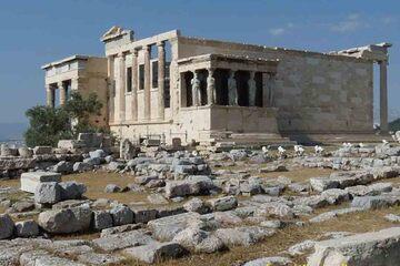 Thassos - Templu ridicat in cinstea Athenei Poliouchou