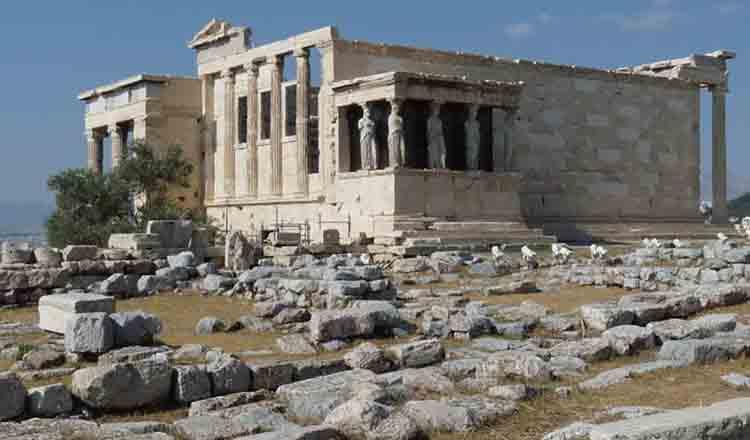 Templu ridicat in cinstea Athenei Poliouchou
