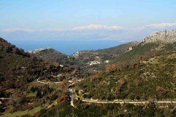 Corfu - Muntele Pandokratoras