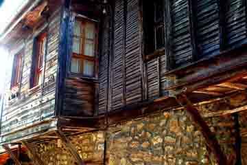 Nessebar - Casele din Nessebar