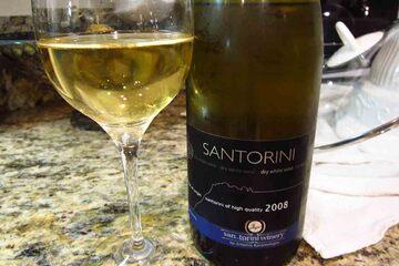 Santorini - Vinul din Santorini