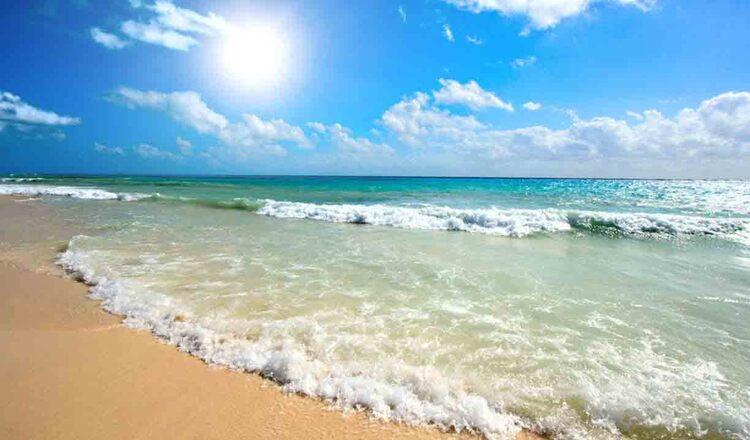 Plaja din Sunny Beach