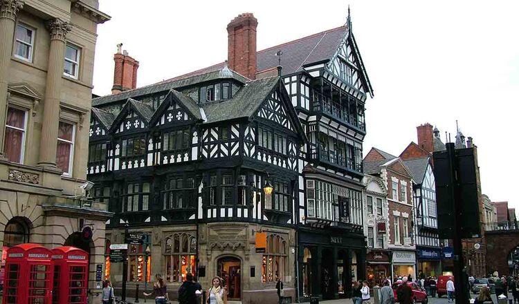 Obiective turistice Chester din Anglia