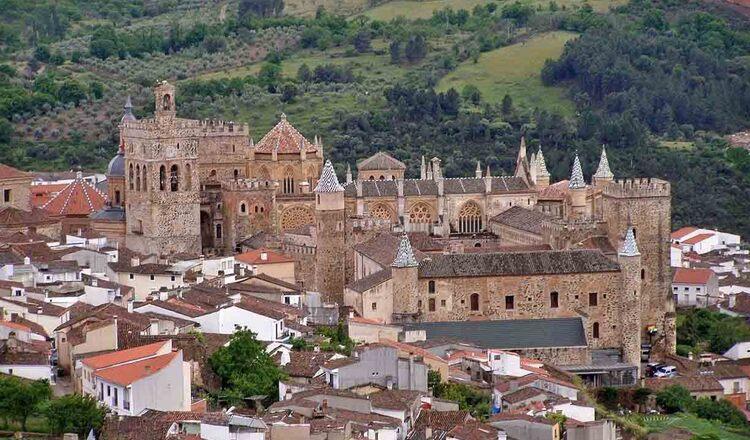 Obiective turistice Guadalupe din Spania