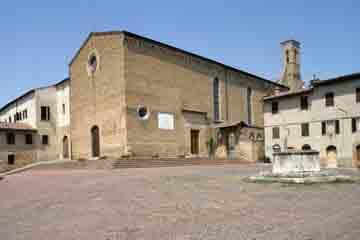 San Gimignano - Biserica Sant Agostino