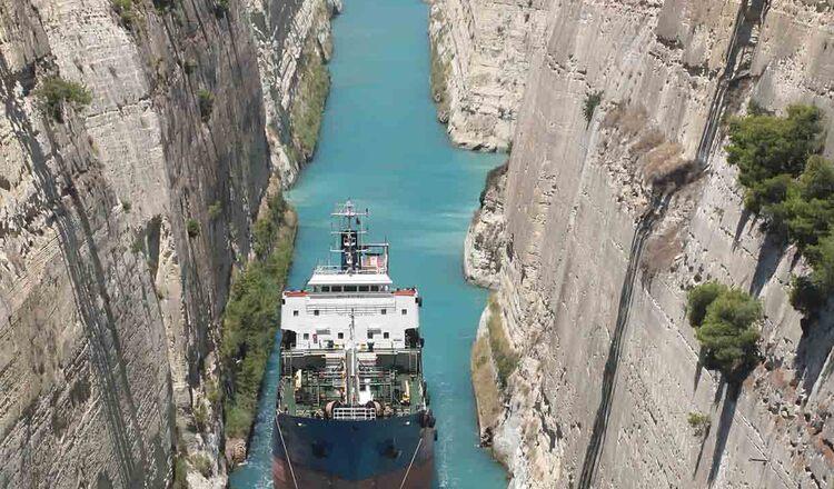 Obiective turistice Golful Corint din Grecia