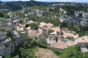 Les Baux de Provence - Satul de sub cetate