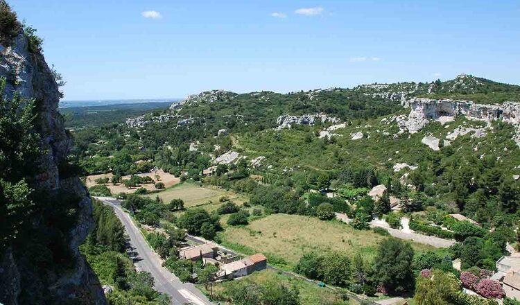 Obiective turistice Les Baux de Provence din Franta