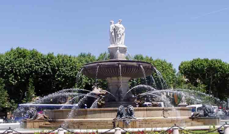 Obiective turistice Aix en Provence din Franta