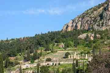 Delphi - Muntii Parnas