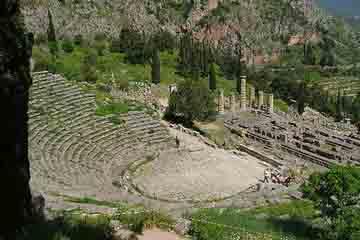 Delphi - Amfiteatrul din Delphi