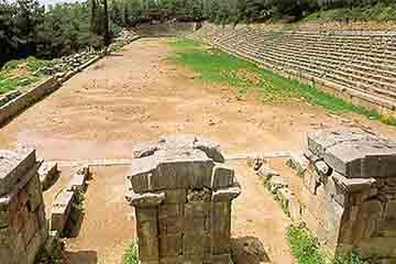 Delphi - Stadionul din Delphi