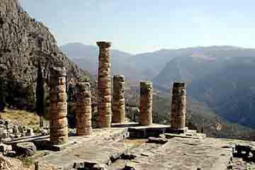 Delphi - Templul lui Apollo