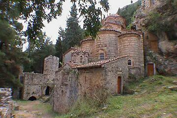 Mystras - Manastirea Perivleptos