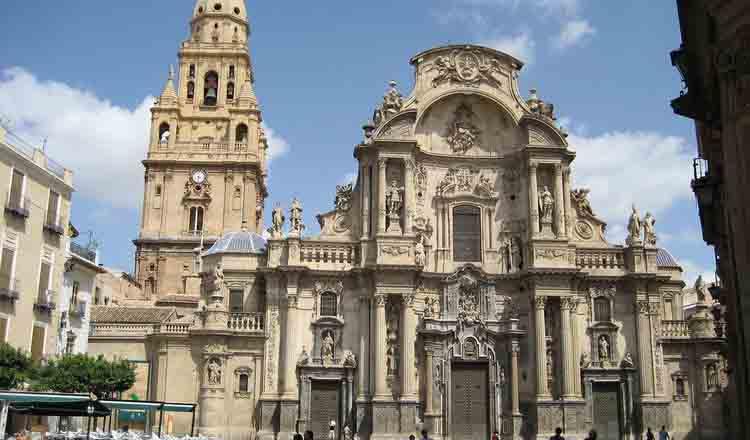 Obiective turistice Murcia din Spania