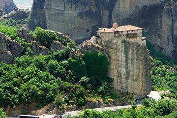 Meteora - Manastirea Sf. Barvara Rousano