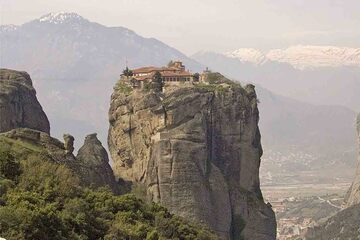 Meteora - Manastirea Agia Triada