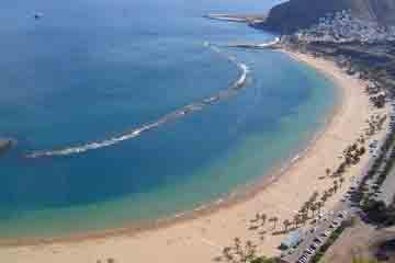 Tenerife - Playa de las Teresitas