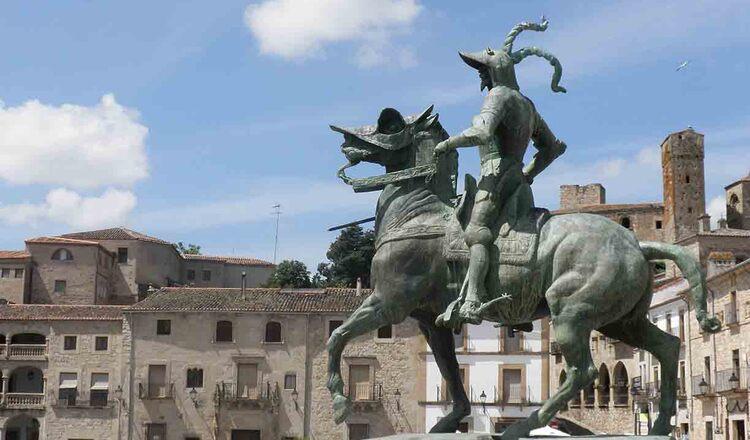 Obiective turistice Trujillo din Spania