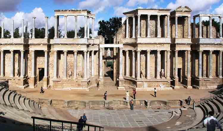 Obiective turistice Merida din Spania