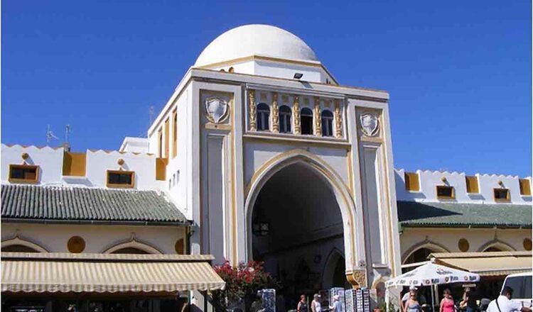 Cladirea Pietei Nea Agora