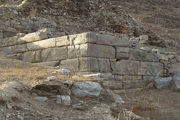 Amorgos - Minoa, Arkesini si Egiali