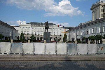 Varsovia - Palatul Prezidential