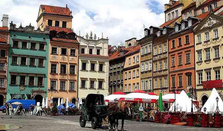Obiective turistice Varsovia din Polonia