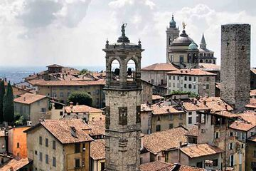 Bergamo - Orasul vechi din Bergamo