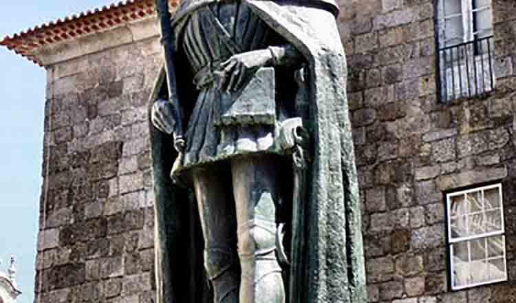 Statuia lui Dom Duarte