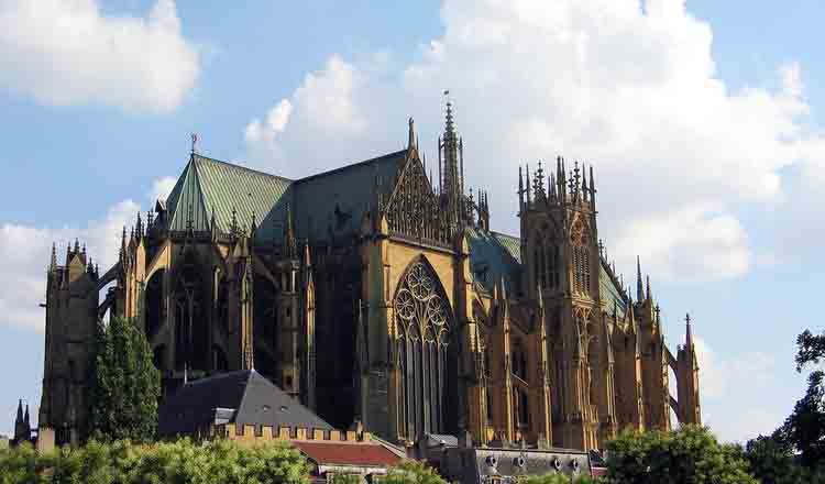 Obiective turistice Metz din Franta