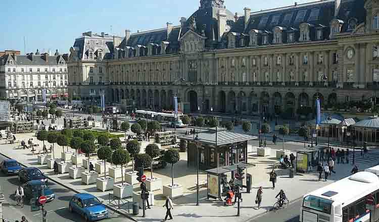Obiective turistice Rennes din Franta