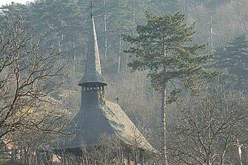 Zalau - Biserica de lemn din satul Cehei