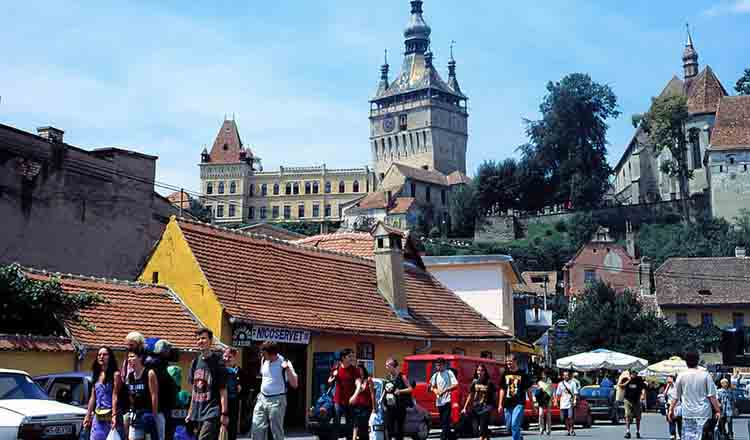 Obiective turistice Sighisoara din Romania